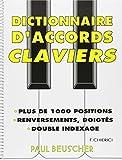 Partition : Dictionnaire d'accords pour clavier