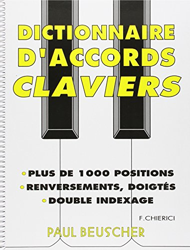 Partition : Dictionnaire d'accords p...