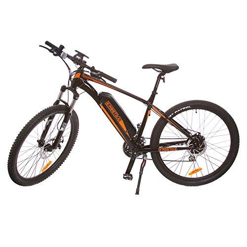 E-mootika, bici elettrica con pedalata assistita modello mountain bike, ruote 27.5