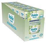 Hakle feuchtes Toilettenpapier Frische für unterwegs, 120 Tücher (10 x 12 Stück)