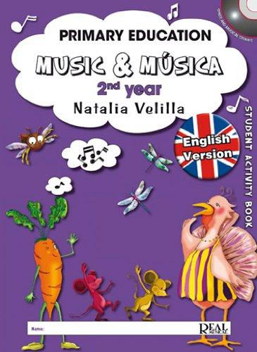 Descargar Libro VELILLA N. - Music & Musica Vol.2 (Student Activity Book) (Inc.DVD) (Ingles) de VELILLA N.
