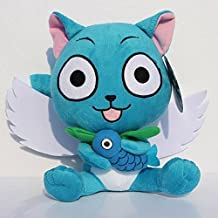 Fairy Tail Plush 11.8 Inch / 30cm Happy Doll Stuffed Animals Figure Soft Anime Collection Toy by Latim