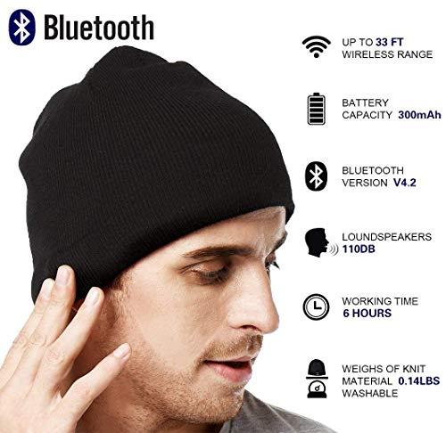 A Bluetooth Donne Uomini Di Xikezan E Fili Beanie Senza Cappello qnzxwfSR7