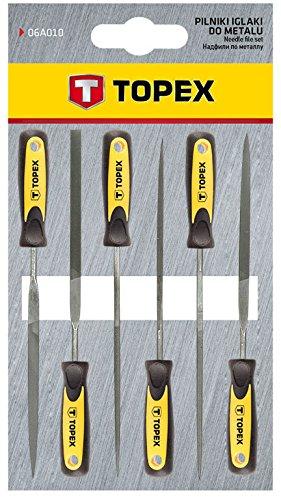 Topex 06A010 Limas de aguja para metal