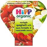 Repas Grandir Organique Hipp Ondulée Spaghetti Avec Savoureux Tomate Et De Mozzarella Sauce 12Mth + (260G)