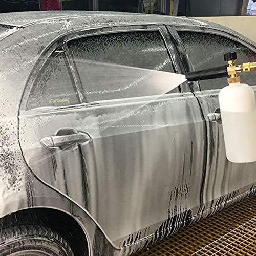 Zhankun Foam Lance Nettoyeur haute pression Pistolet à bouteille de savon pour Karcher Bosch Lavor Nilfisk Kit Accessoires essentiels