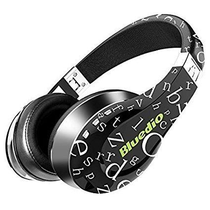 Bluedio A (Air) auriculares bluetooth cascos inalambricos con microfono sonido 3D ultra flexible ( Negro )