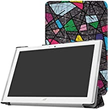 "Acer Iconia One 10 B3-A40 Slim Shell Funda,Mama Mouth Ultra Slim Ligera PU Cuero Con Soporte Funda Caso Case para 10.1"" Acer Iconia One 10 B3-A40 Android Tablet PC,Church window"