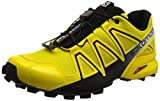 Salomon Men's Speedcross 4 Trail Running Shoes, Yellow (Empire Yellow/black/black), 9 UK