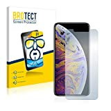 brotect HD-Clear iPhone XS Max 2pièce (s)–Protecteur d'écran (Protecteur d'écran, Apple, iPhone XS Max, résistante aux Rayures, Transparent, 2pièce (s))