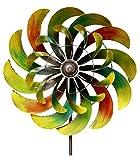 Grasekamp Windrad Garten Ibiza 6 Metall BIG Windmühle Windfahne Windspiel