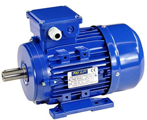 Pro-Lift-Werkzeuge 3-Phasen Drehstrommotor 1,5 kW 380 V Elektromotor 1425 U/min Industriemotor electric motor B3 Drehstrom 1500W 230V/400V - 3-phasen-motor