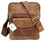 Starhide Mens Womens Distressed Hunter Brown Leather Cross - Best Reviews Guide