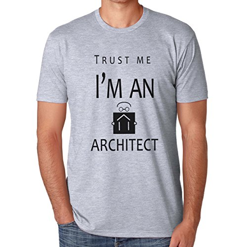 Trust Me I'm An Architect Large Uomini T-Shirt