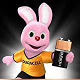 Duracell 9 V Plus Power Alkaline Type Battery (Pack of 4)