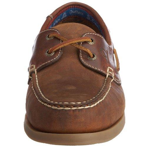 Chatham marine Bermuda G2 D700 , bateau chaussure pour hommes Noir / Hippocampe