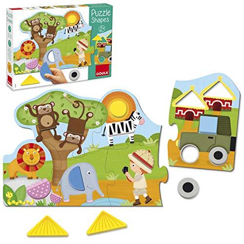 Goula - 53439 - Puzzle Shapes Safari