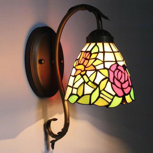 Uncle Sam LI Lampe de chevet - roses de jardin de style européen au chaud miroir mural lumières couloir lumière balcon de l'allée