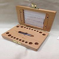 Preisvergleich für XBR die kiste _ holzbaby lanugo zähne kinder zähne box memorial erhaltung box