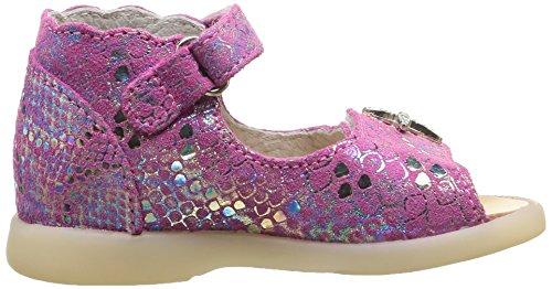 Little Mary Valerie, Chaussures Premiers pas bébé fille Rose (Miror Passion)