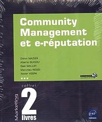 Community Management et e-réputation - Coffret de 2 livres