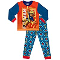 Fireman Sam Boys Fire Man Sam Pyjamas Ages 12 Months to 5 Years w18