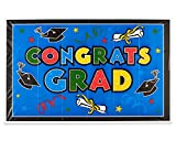 American Greetings Congrats Grad GIANT Party Zeichen, multicolor