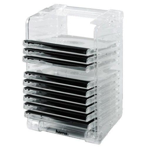 Hama CD-Rack & Stack 12, Transparent