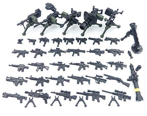 Custom Waffen Set 38 Teilig Pistole Gewehre für Lego Figuren