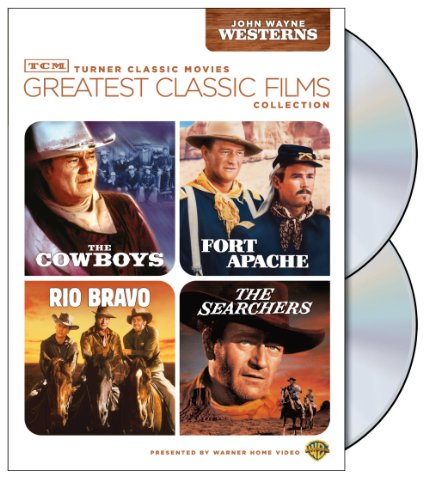 John Wayne - Greatest Classic Films: The Searchers & Fort Apache & Rio Bravo & The Cowboys
