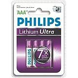 Philips FR03LB4A Pile Lithium Ultra Blister de 4 AAA