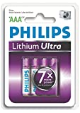 Philips Lithium Ultra Batterie Micro AAA 4er Blister FR03LB4A/10