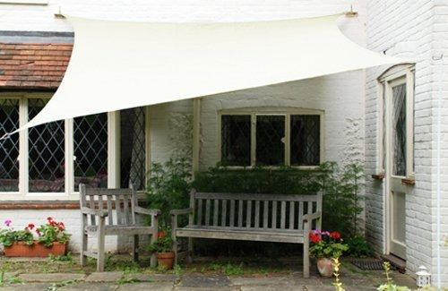 Tenda A Vela Per Terrazzo : Tenda a vela beautiful songmics tenda parasole vela solare in pes