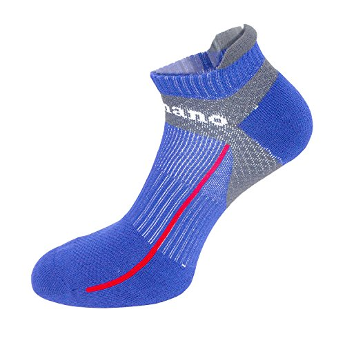 Aaronano 5 Pairs Men Half Cushioned Terry Athletic Running Ankle Socks Size(5.5-11 UK/38-46 EU)