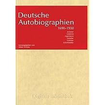 Deutsche Autobiographien (PC+MAC)