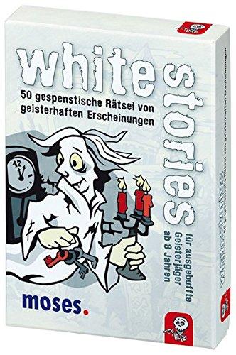 Junior white stories, 50 gespenstische Rätsel, Das Rätsel Kartenspiel für Kinder (Lustige Halloween-spiele Online)
