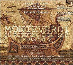 Monteverdi - Il ritorno d'Ulisse in patria / Banditelli · Zanasi · Kiehr · Fouchécourt · Schofrin · Vargetto · Abbondanza · Fernandez · Laurens · Ensemble Elyma · Garrido [Import anglais]