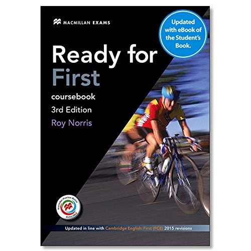 Ready For First Student´s Book without answer key + eBook (3rd Edition) (Ready for Series) por Roy Norris