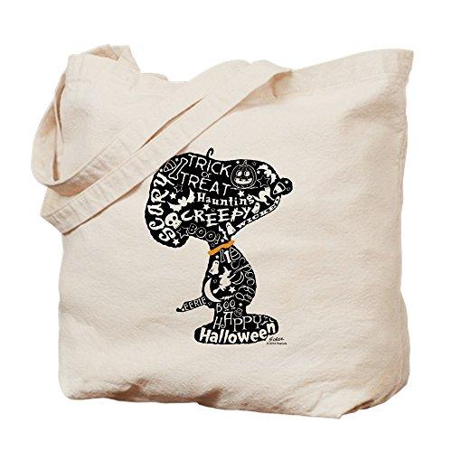 Snoopy Tragetasche, canvas, khaki, S ()