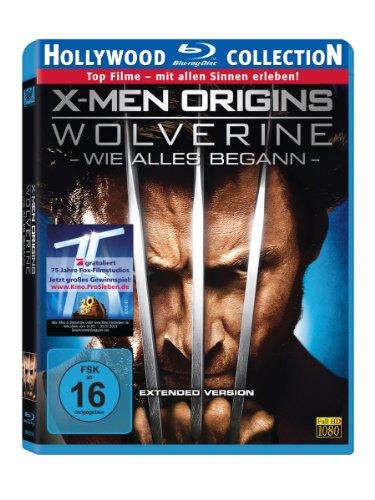 Bild von X-Men Origins: Wolverine - Wie Alles Begann (Extended Version) [Blu-ray]