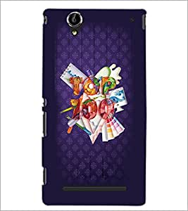 PrintDhaba Quote D-3769 Back Case Cover for SONY XPERIA T2 ULTRA (Multi-Coloured)
