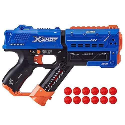 XShot Chaos Meteor - Dartblaster, Ball-Blaster, Kugel-Blaster - kompatibel mit Nerf Rival