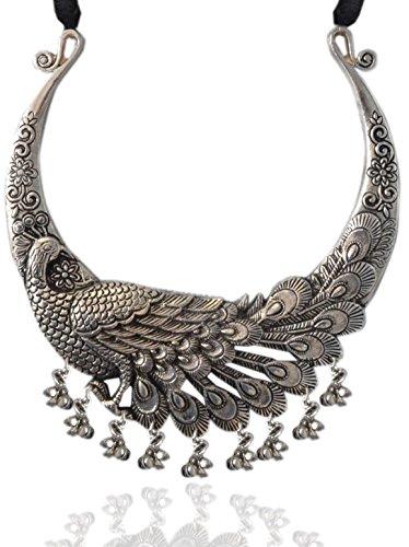 Necklace for Women Indian Hasli Necklace Choker Necklace,Tribal jewelry Boho Jewelry Weight=94 Gypsy Jewelry