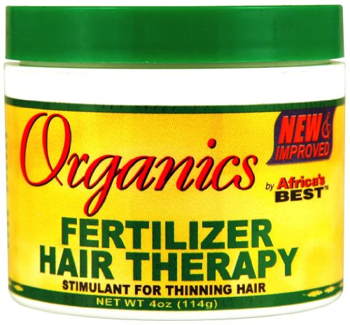 ORGANICS BY AFRICA'S BEST Masque Ab Org Fertilizer Hair Therapy 4.0 Oz 120 ml