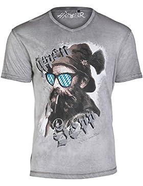 Hangowear T-Shirt Beppi grau oilwashed