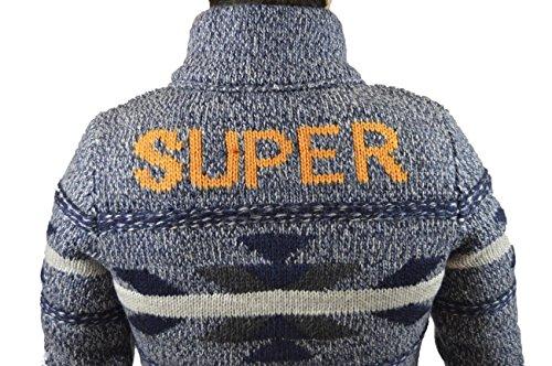 SPENCER SUPERDRY MSKJK067-AQX MARINO Bleu
