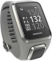 TomTom GOLFER 2 Large Strap GPS Golf Watch - Light Grey