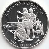 Kanada KM-Nr.: 170 Polierte Platte Silber 1990 1 Dollar Henry Kelsey (Münzen für Sammler)