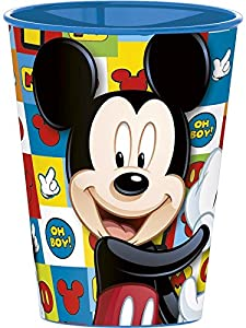 Mickey Mouse Vaso plastico pequeño 260 ml (Stor 22007)