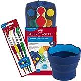 Faber-Castell 125030 - Farbkasten Connector mit 12 Farben